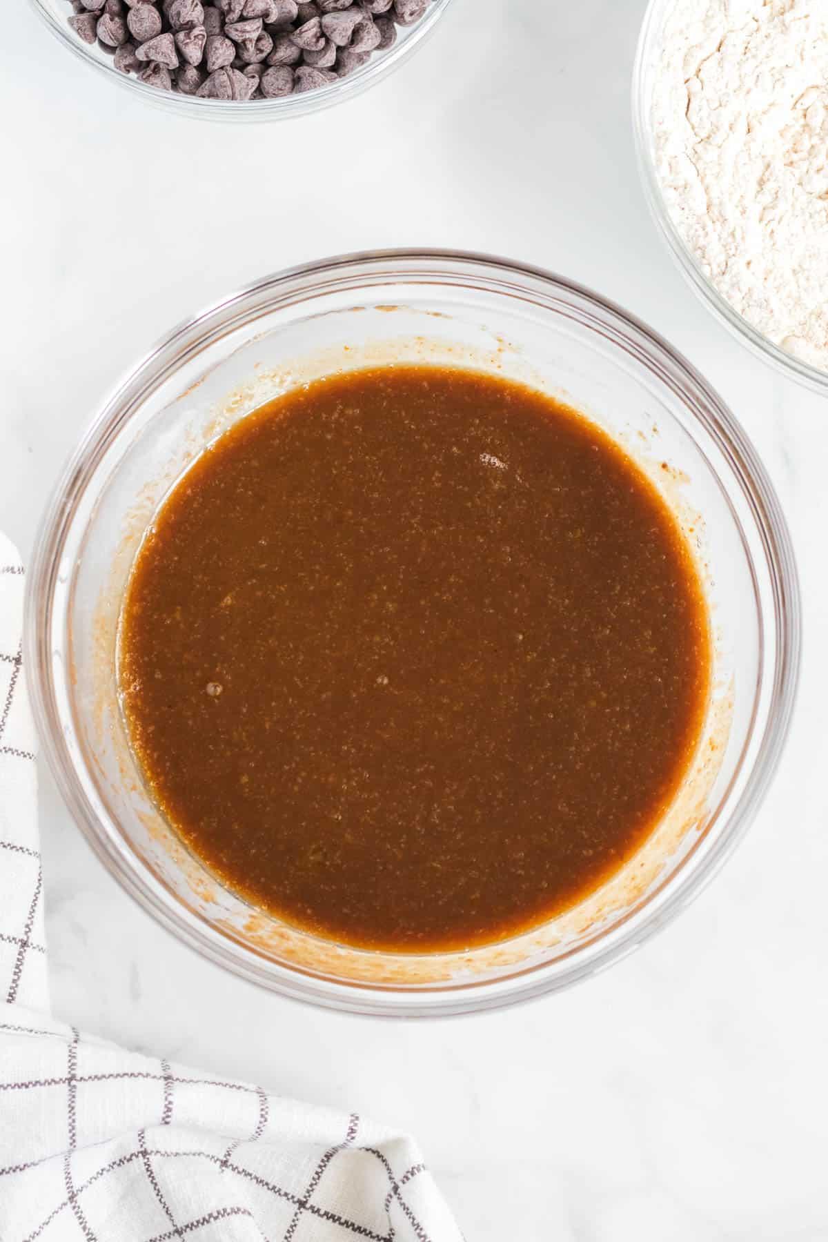 pumpkin wet ingredient batter