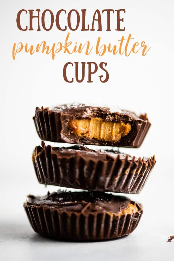 pumpkin almond butter cups