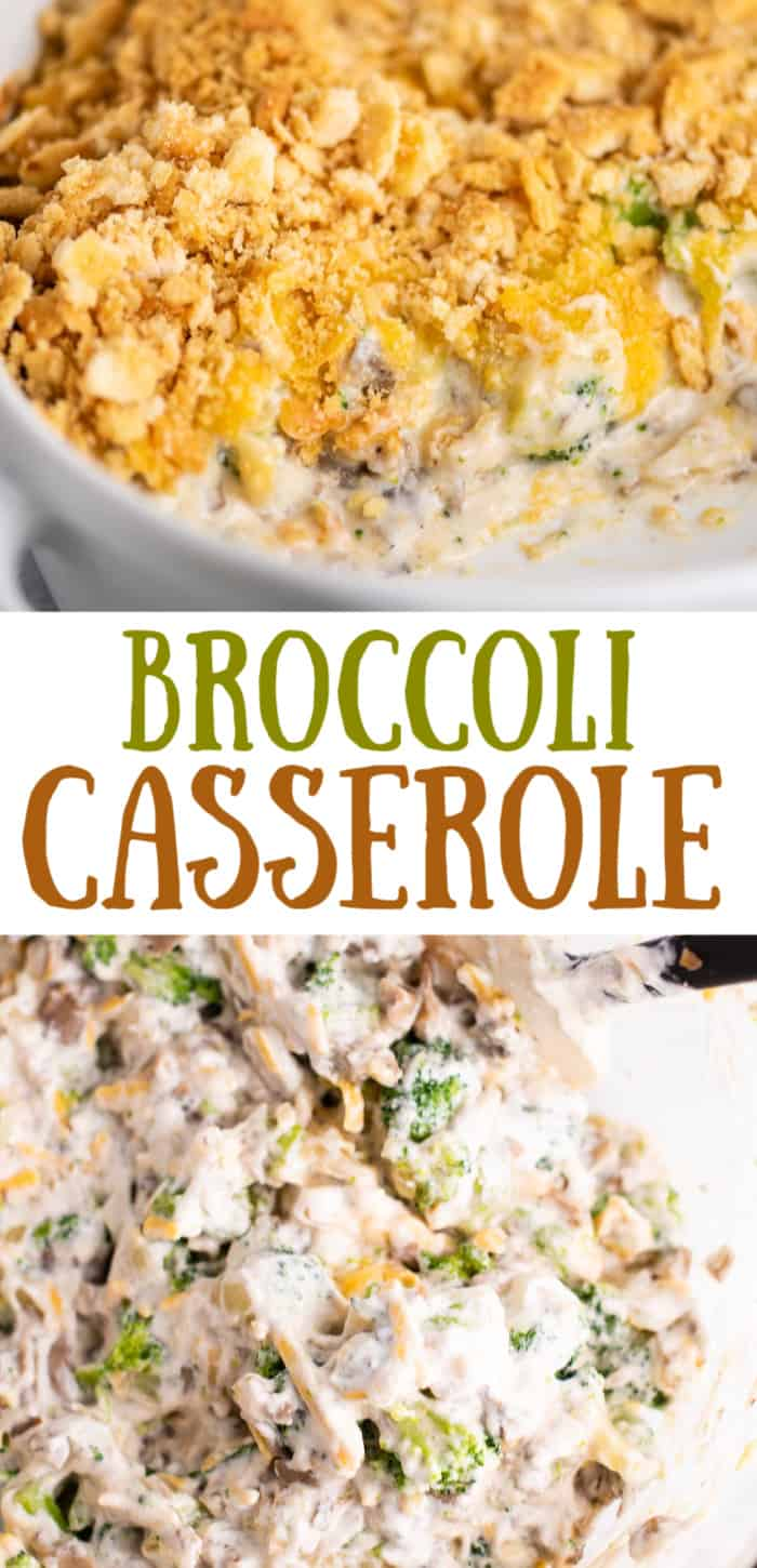 "image with text saying ""broccoli casserole"""