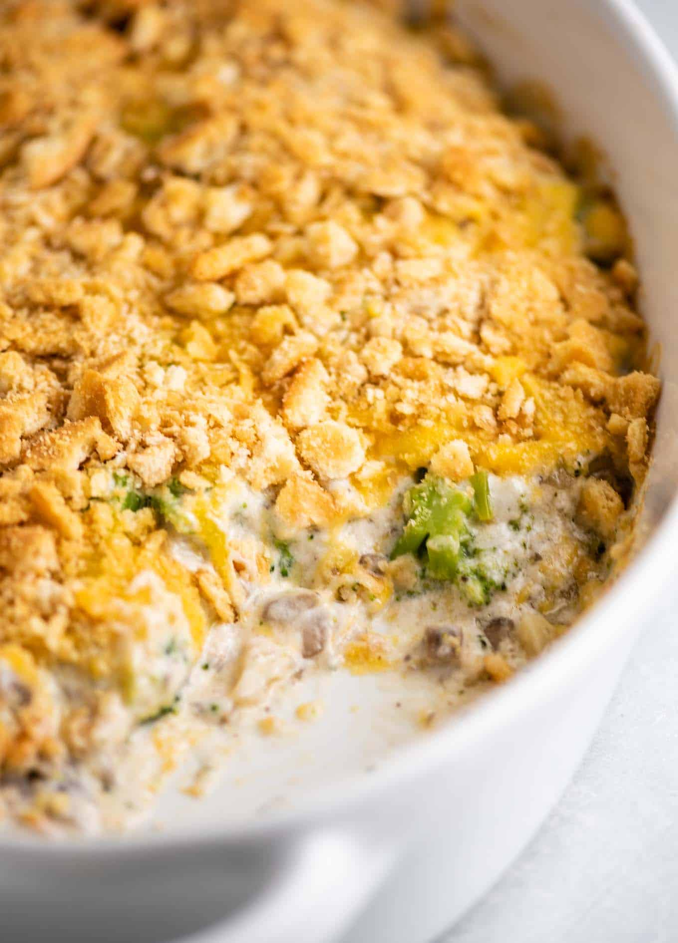 easy creamy broccoli casserole recipe