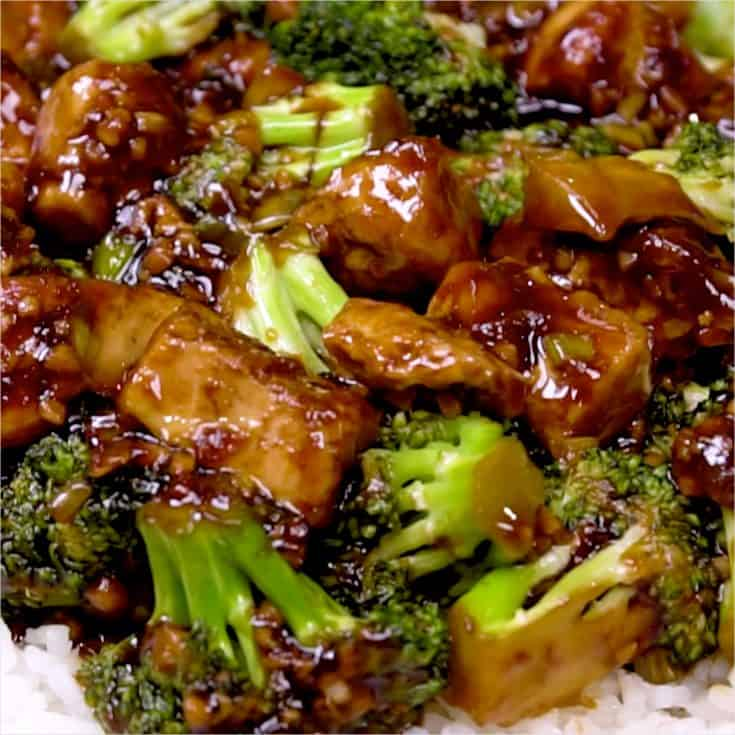 Broccoli Tofu Stir Fry