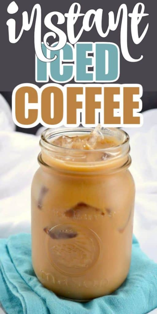 "image with text ""instant iced coffee"""