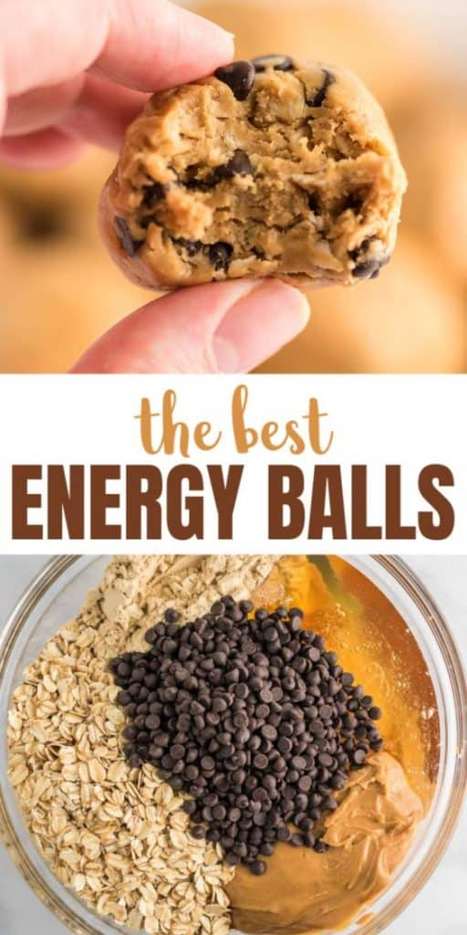 "image with text ""the best energy balls"""
