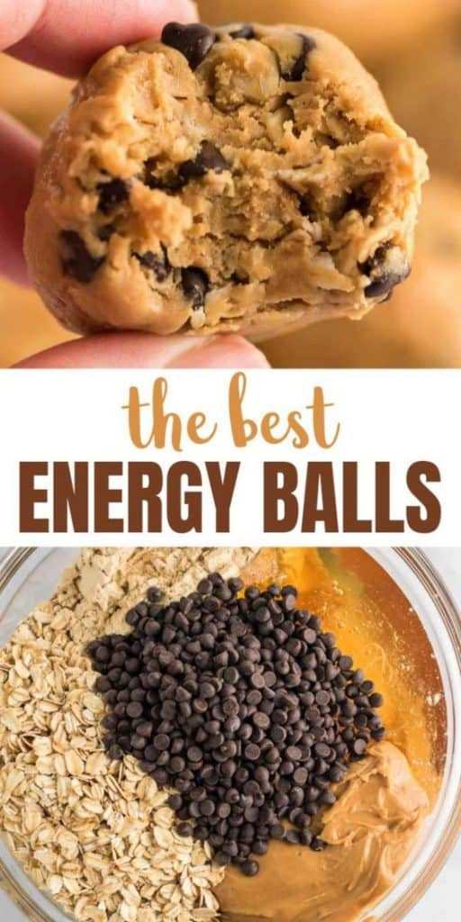 """image with text """"the best energy balls"""""""
