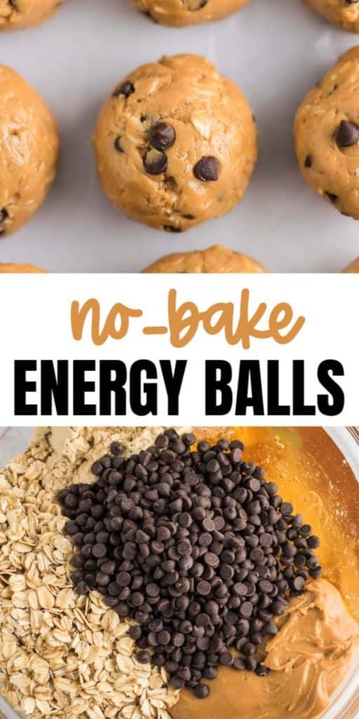 no bake energy balls graphic