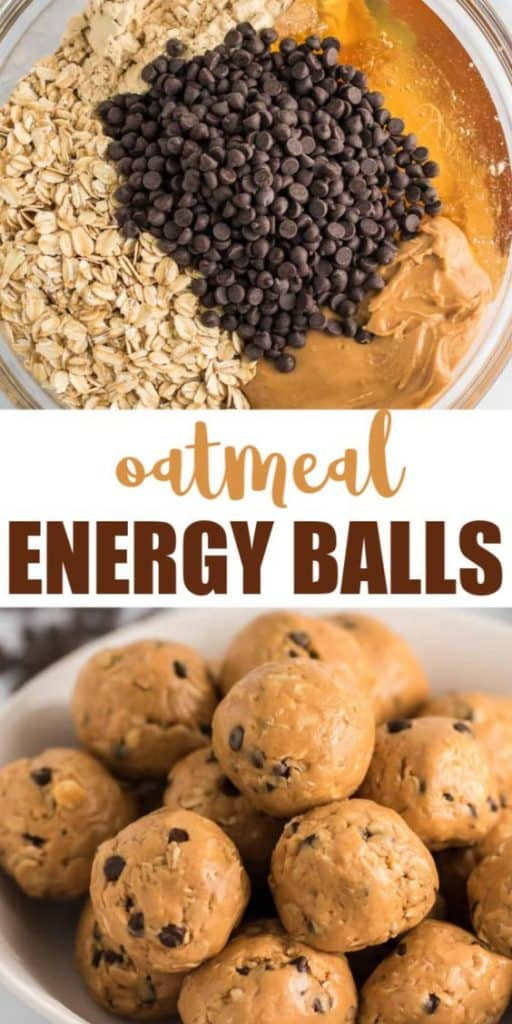 """image with text """"oatmeal energy balls"""""""