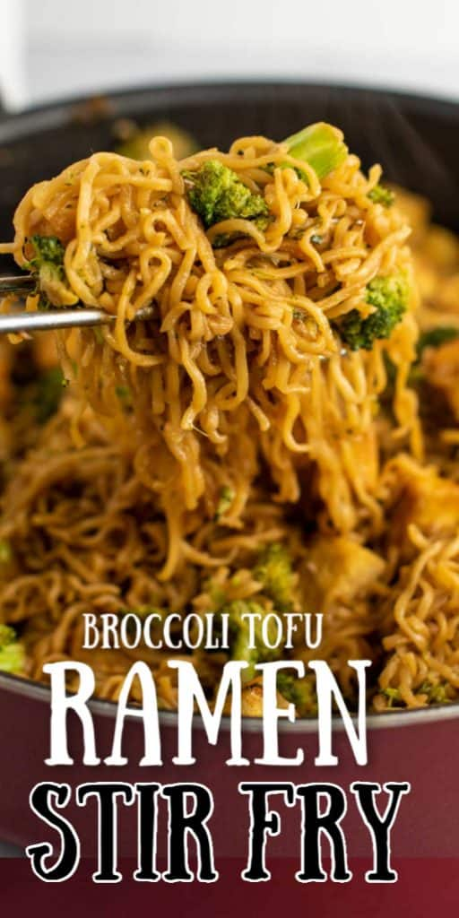 "image with text ""broccoli tofu ramen stir fry"""