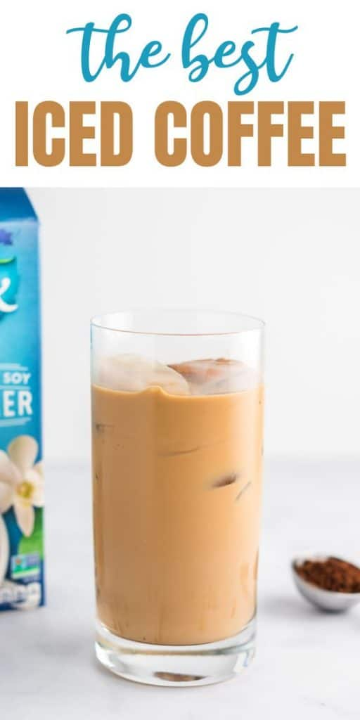 "image with text ""the best iced coffee"""