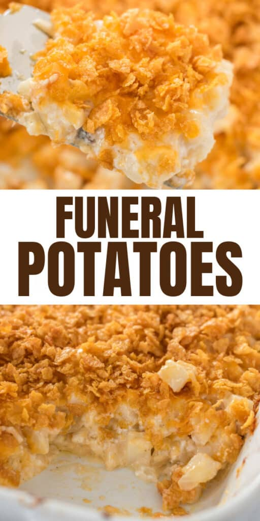 "image with text ""funeral potatoes"""
