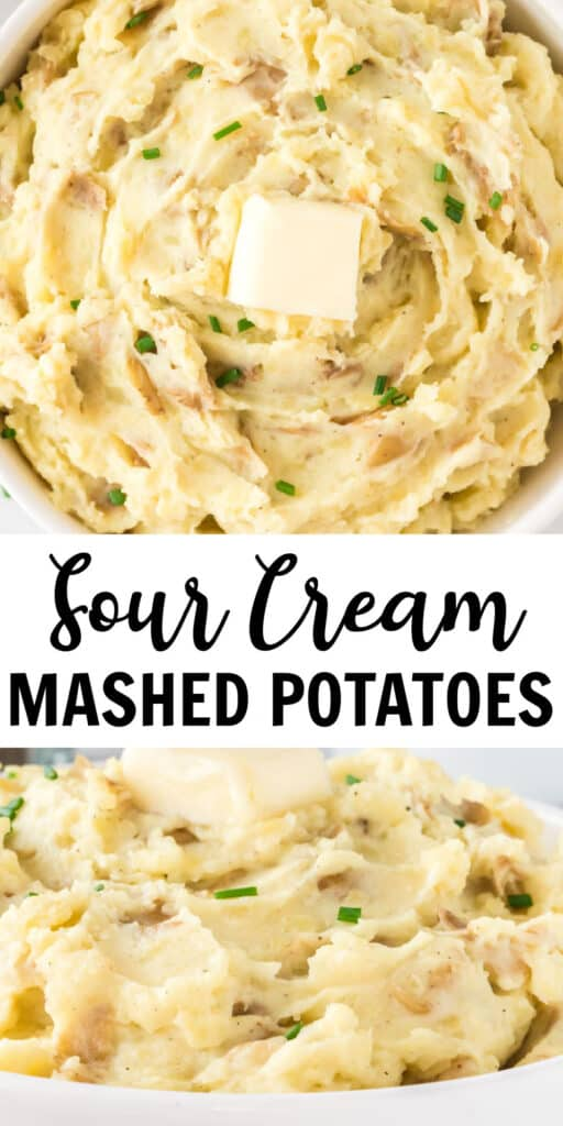 """image with text """"sour cream mashed potatoes"""""""
