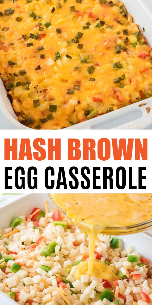 """image with text """"hash brown egg casserole"""""""
