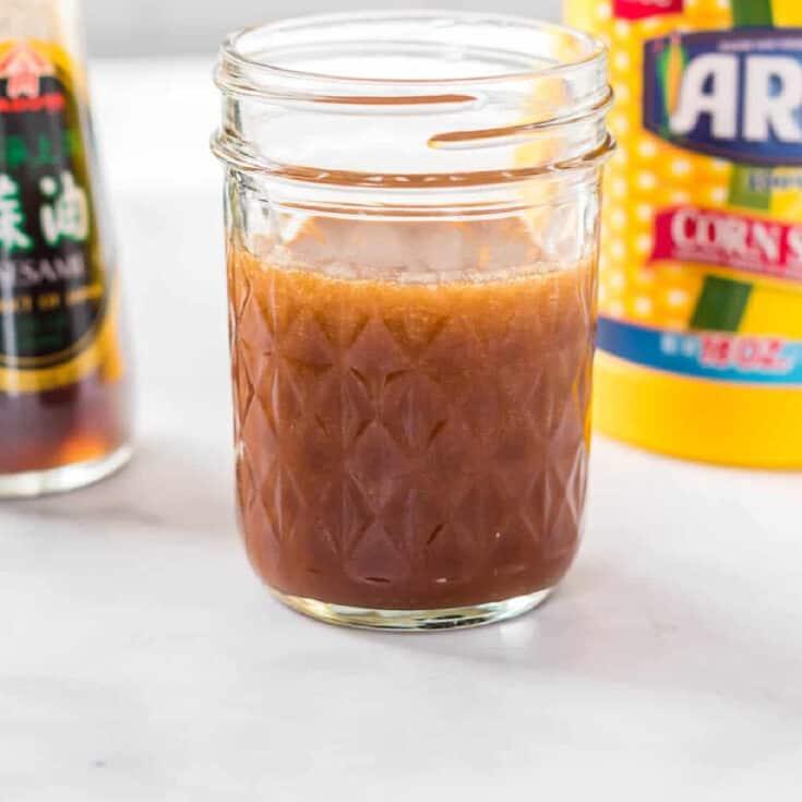 stir fry sauce in a jar