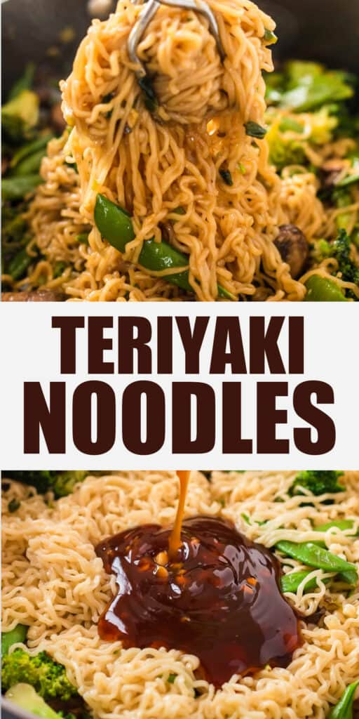 "image with text ""teriyaki noodles"""