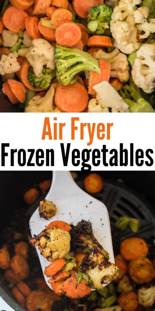 "image with text ""air fryer frozen vegetables"""