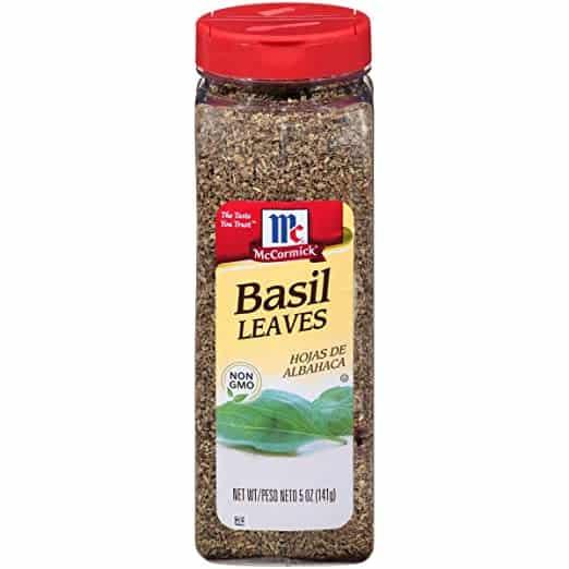 McCormick Basil Leaves, 5 oz, Dried Basil