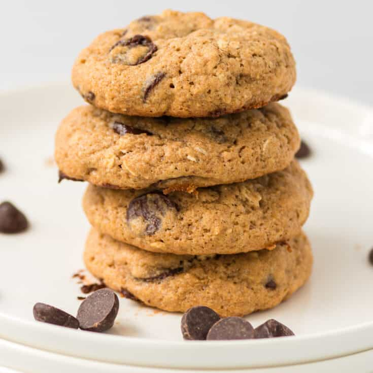 cookies stacked on top of each other