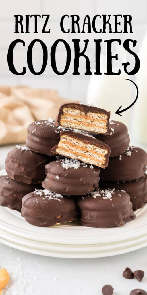 "image with text ""ritz cracker cookies"""