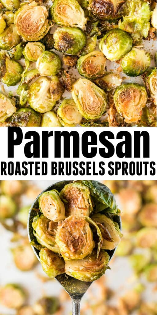 """image with text """"parmesan roasted brussels sprouts"""""""
