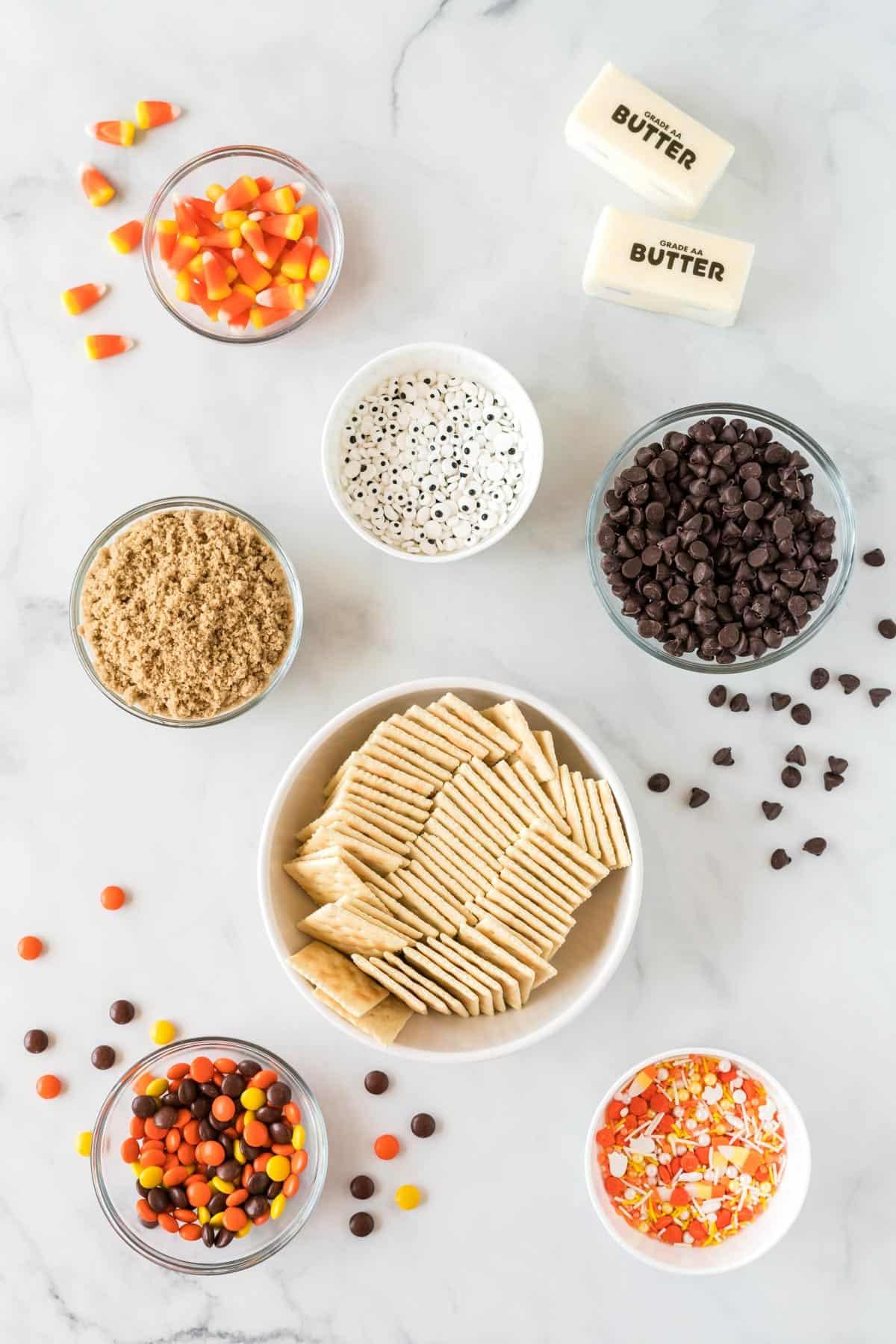 ingredients needed to make halloween crack
